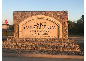 Laredo hiking trail Lake Casa Blanca International State Park