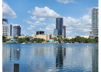Orlando public park Lake Eola Park
