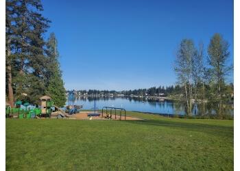 Kent public park Lake Meridian Park