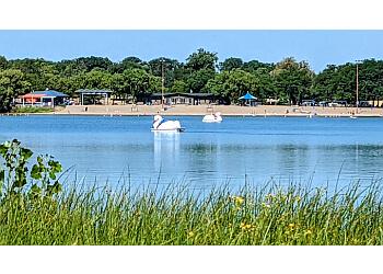 Minneapolis public park Lake Nokomis Park