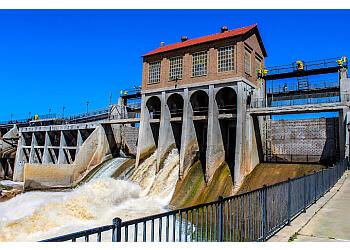 Oklahoma City public park Lake Overholser Park