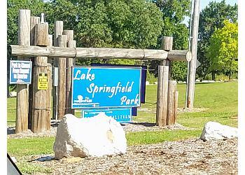 Springfield hiking trail Lake Springfield Park Trail