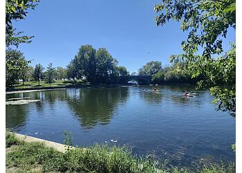 Minneapolis public park Lake of the Isles Park