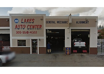 Hialeah car repair shop Lakes Auto Center