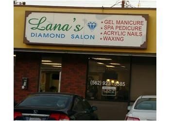 Downey nail salon Lana's Diamond Salon