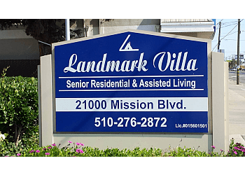 Hayward assisted living facility Landmark Villa