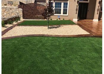 El Paso landscaping company Landscape & Concrete Impressions