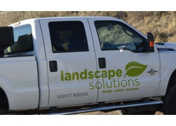 West Valley City landscaping company Landscape Solutions