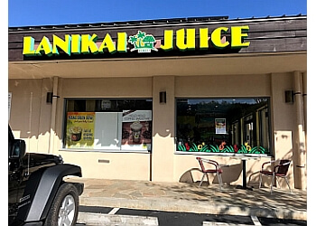 Honolulu juice bar Lanikai Juice
