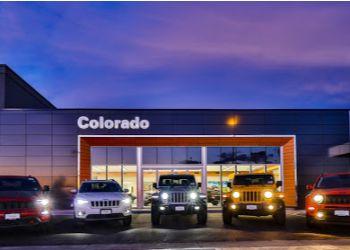 Aurora car dealership Larry H. Miller Colorado Jeep