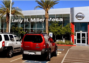 Mesa car dealership Larry H. Miller Nissan Mesa