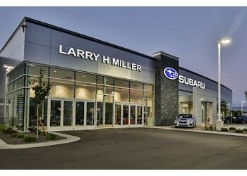 Boise City car dealership Larry H. Miller Subaru