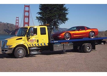 San Francisco towing company Larry's Towing