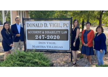 Albuquerque social security disability lawyer Law Office of Donald D. Vigil