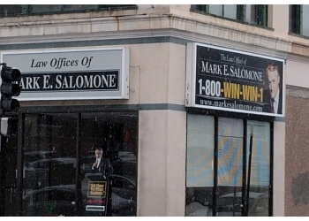 Worcester personal injury lawyer Law Offices Of Mark E. Salomone