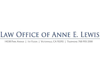 Victorville divorce lawyer Law Offices of Anne E. Lewis