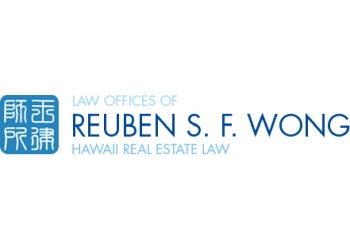 Honolulu real estate lawyer THE LAW OFFICES OF REUBEN S.F.