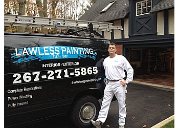 Philadelphia painter Lawless Painting