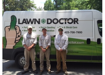 Chattanooga lawn care service Lawn Doctor Inc.