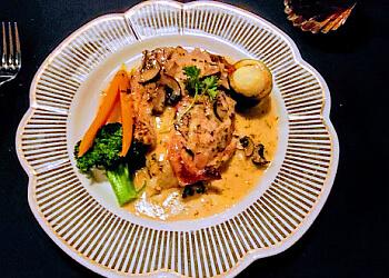Riverside french restaurant Le Chat Noir