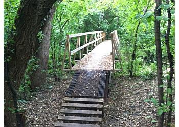 Sioux Falls hiking trail Leaders Park Trail