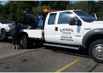 Toledo towing company Leah's Towing