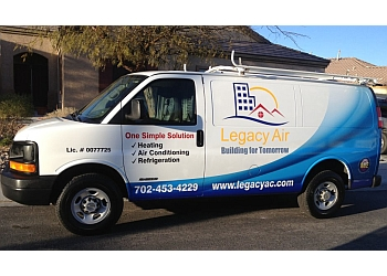 North Las Vegas hvac service Legacy Air