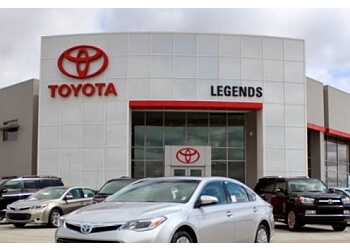 Kansas City car dealership Legends Toyota