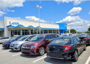 Raleigh car dealership Leith Honda
