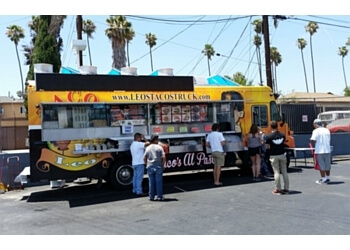 Los Angeles food truck Leo's Tacos Truck