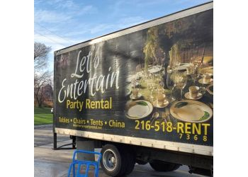 Cleveland event rental company Lets Entertain Party Rental