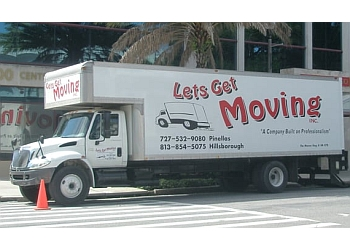 St Petersburg moving company LET'S GET MOVING INC.