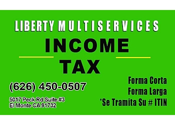 El Monte tax service Liberty Multiservices