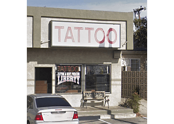 Inglewood tattoo shop Liberty Tattoo and Body Piercing
