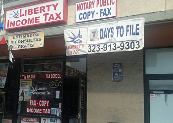 Los Angeles tax service Liberty Tax Service
