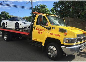 Honolulu towing company Liberty Tow Hawaii llc