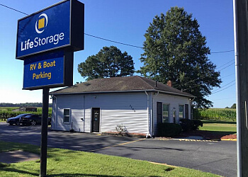Chesapeake storage unit Life Storage