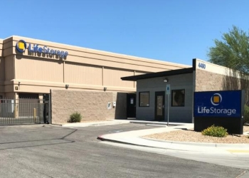 North Las Vegas storage unit LifeStorage