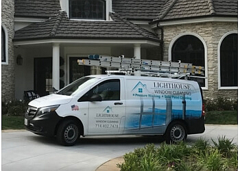 Anaheim window cleaner Lighthouse Window Cleaning Services