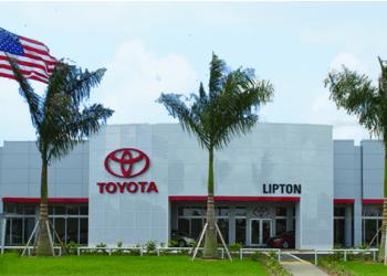 Fort Lauderdale car dealership Lipton Toyota