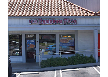 Moreno Valley pizza place Little Bambino's Pizza