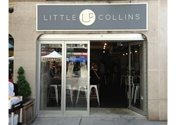 New York cafe Little Collins