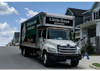 Raleigh moving company Little Guys Movers