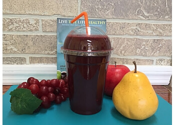 Elizabeth juice bar Live The Life Healthy