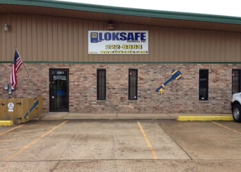 Shreveport locksmith Loksafe Services Inc.