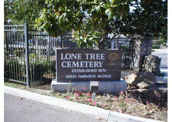 Hayward landmark Lone Tree Cemetery