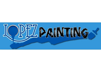 Visalia painter Lopez Painting