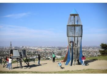Torrance public park Los Arboles Rocketship Park
