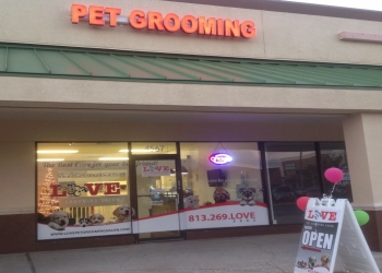 Tampa pet grooming Love pet Grooming Salon