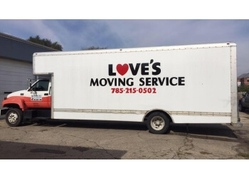 Topeka moving company Love's Moving Service